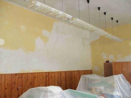 Iskola felújítás 2008 - Előtte