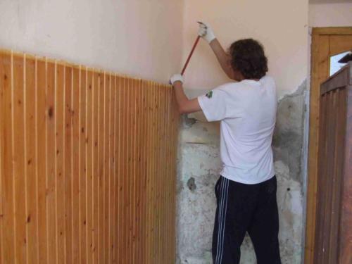 Iskola felújítás 2008 - Munka